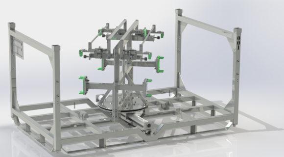 Stillage design | Rotating FEM stillage for Bentley Motors
